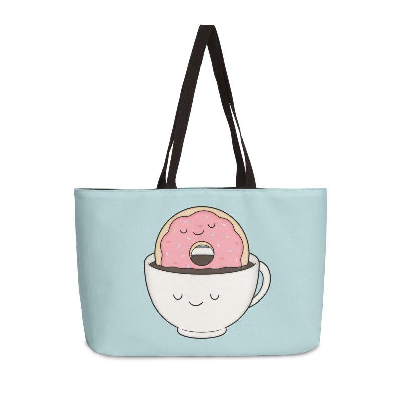 Coffee Loves Donut Accessories Bag by Kim Vervuurt