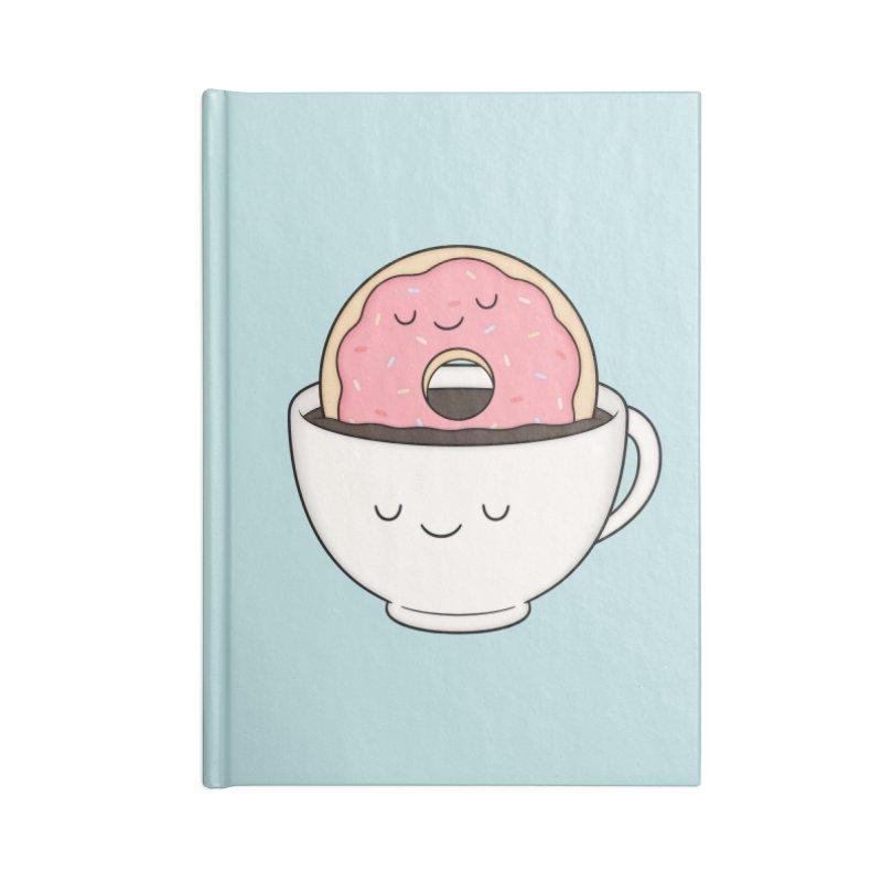 Coffee Loves Donut Accessories Notebook by Kim Vervuurt
