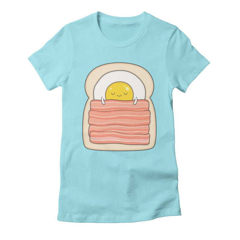 Bed and Breakfast Women's Fitted T-Shirt by Kim Vervuurt