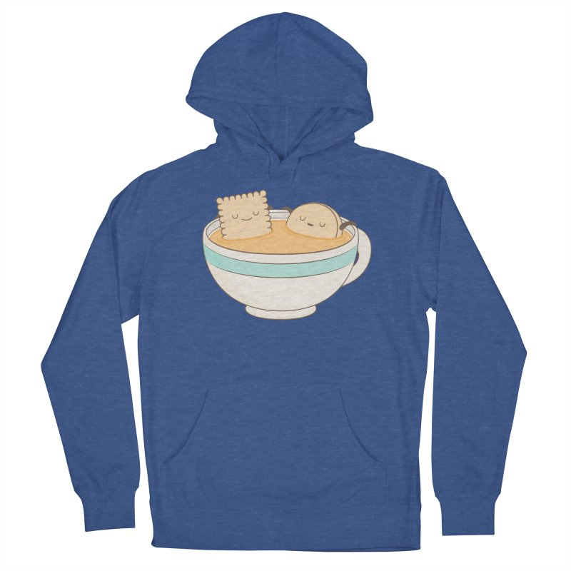 Loosen Up A Little Men's French Terry Pullover Hoody by Kim Vervuurt