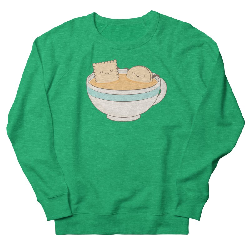 Loosen Up A Little Women's French Terry Sweatshirt by Kim Vervuurt