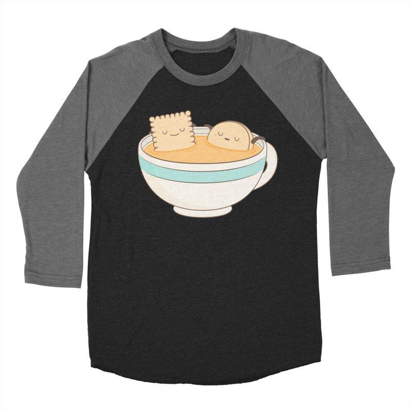 Loosen Up A Little Women's Baseball Triblend Longsleeve T-Shirt by Kim Vervuurt