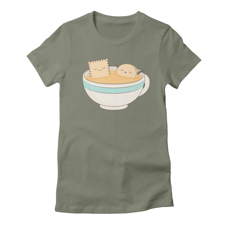 Loosen Up A Little Women's T-Shirt by Kim Vervuurt