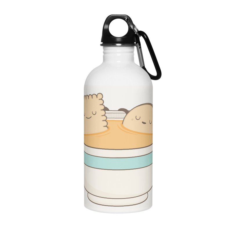 Loosen Up A Little Accessories Water Bottle by Kim Vervuurt