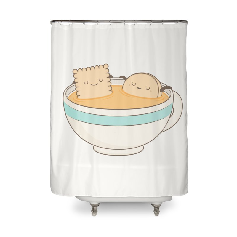 Loosen Up A Little Home Shower Curtain by Kim Vervuurt