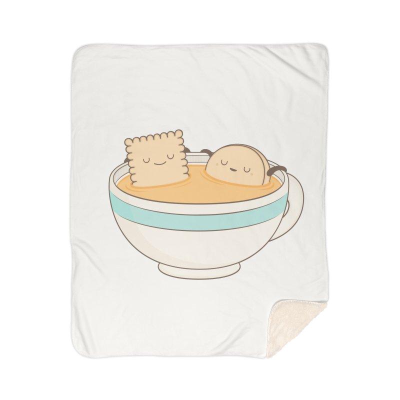 Loosen Up A Little Home Sherpa Blanket Blanket by Kim Vervuurt