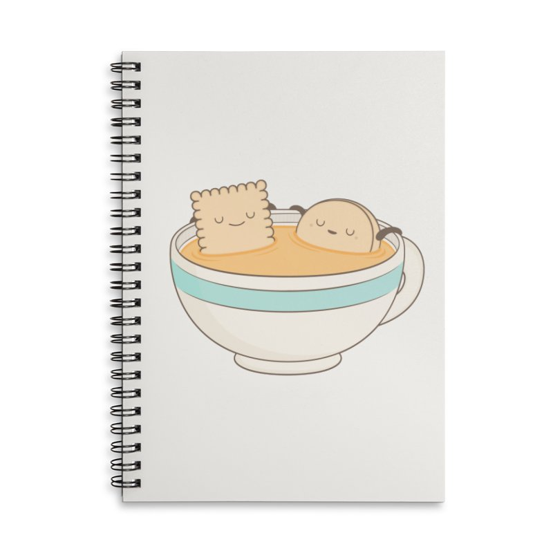 Loosen Up A Little Accessories Lined Spiral Notebook by Kim Vervuurt