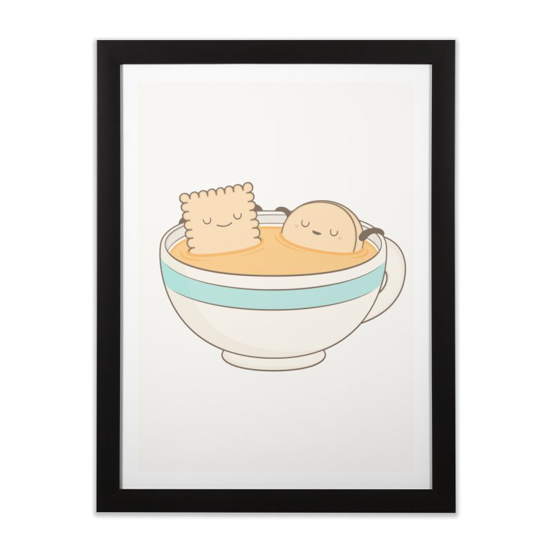 Loosen Up A Little Home Framed Fine Art Print by Kim Vervuurt