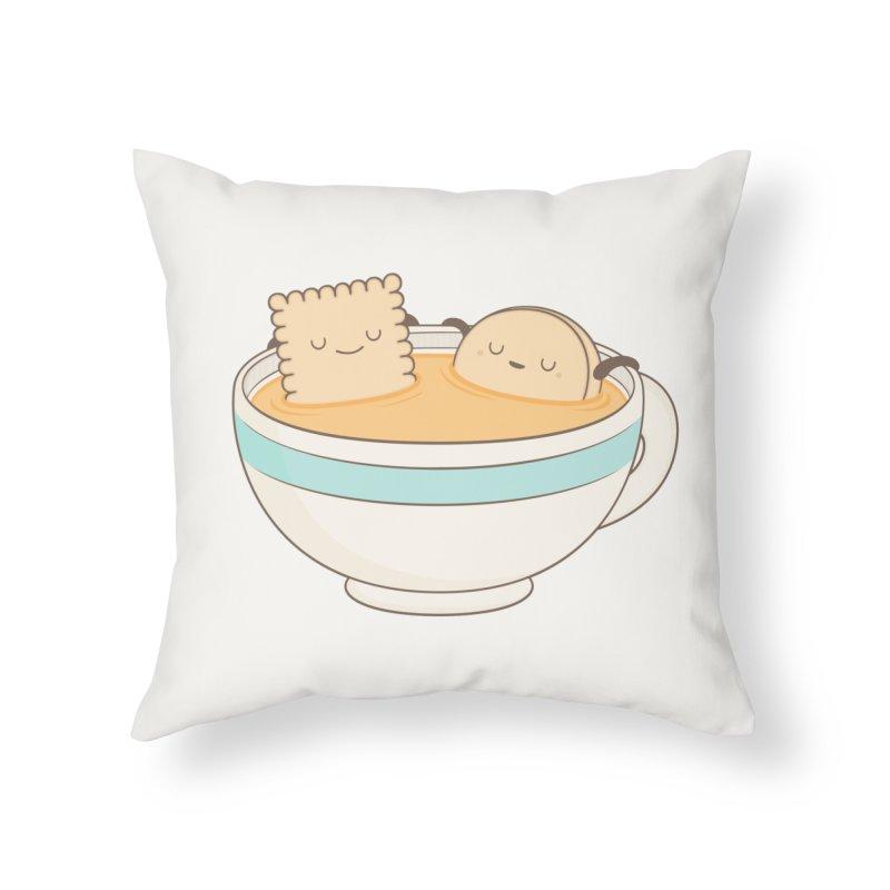 Loosen Up A Little Home Throw Pillow by Kim Vervuurt