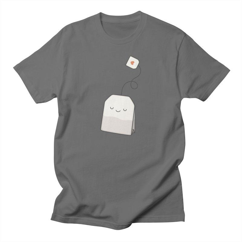 Tea Time Men's T-Shirt by Kim Vervuurt