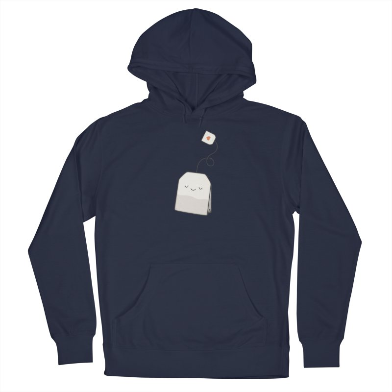 Tea Time Men's Pullover Hoody by Kim Vervuurt
