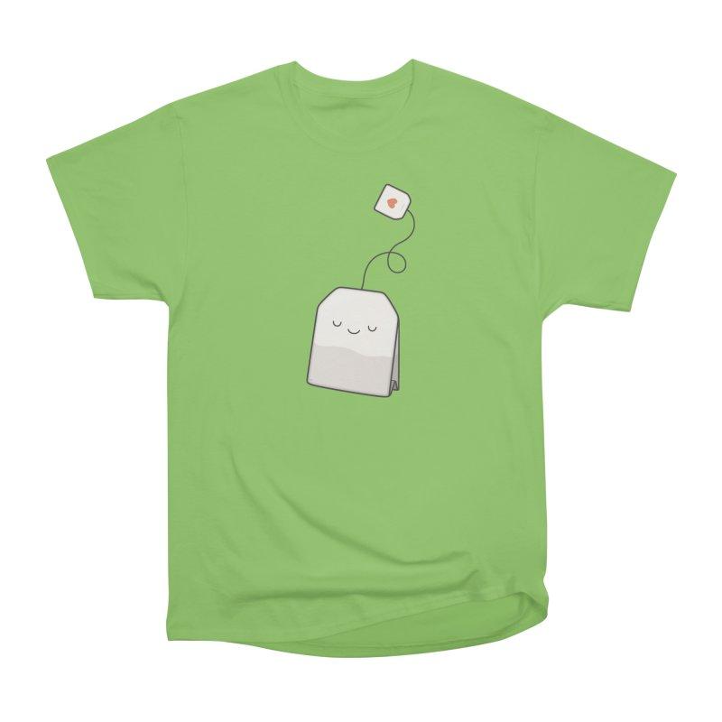 Tea Time Women's Heavyweight Unisex T-Shirt by Kim Vervuurt