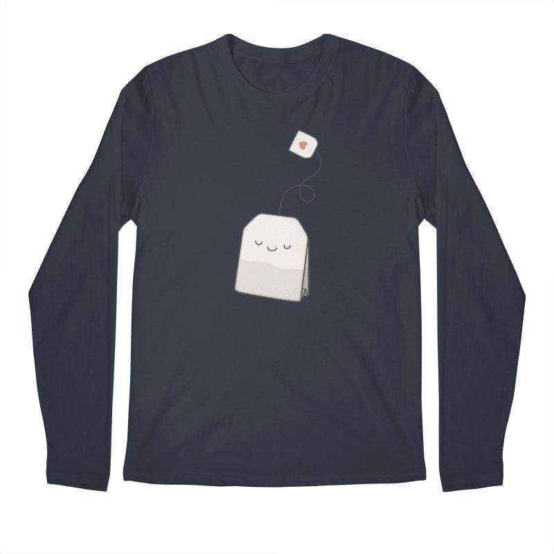 Tea Time Men's Longsleeve T-Shirt by Kim Vervuurt