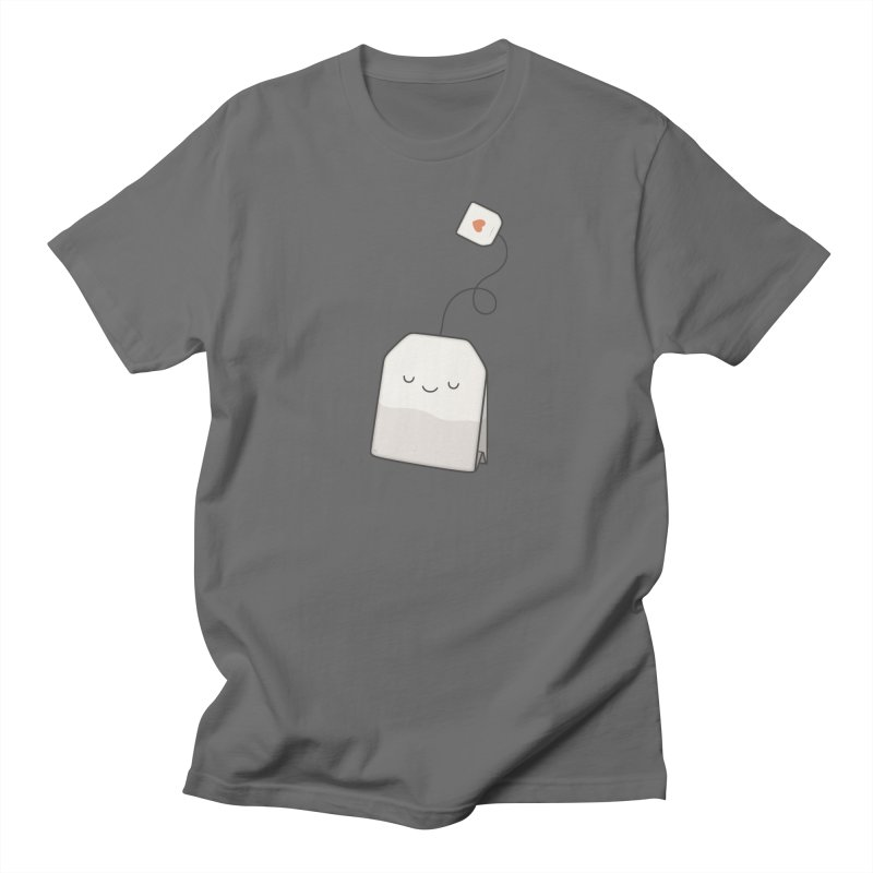 Tea Time Men's T-Shirt by Kim Vervuurt
