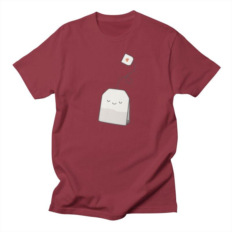 Tea Time Women's Regular Unisex T-Shirt by Kim Vervuurt