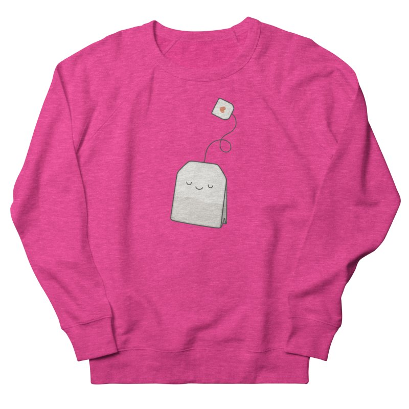 Tea Time Women's French Terry Sweatshirt by Kim Vervuurt