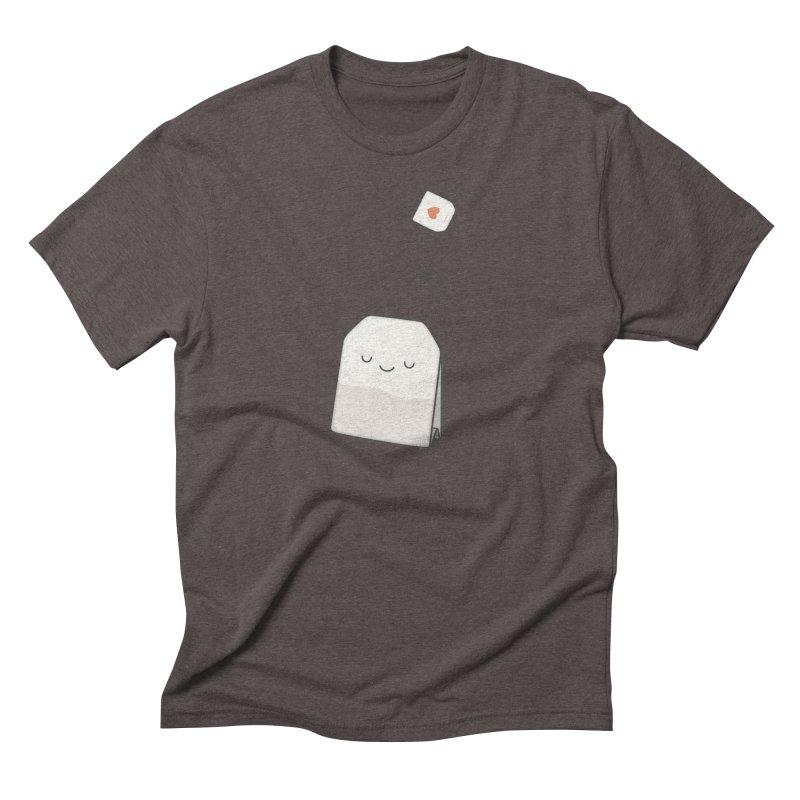 Tea Time Men's Triblend T-shirt by Kim Vervuurt