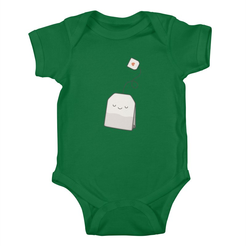 Tea Time Kids Baby Bodysuit by Kim Vervuurt