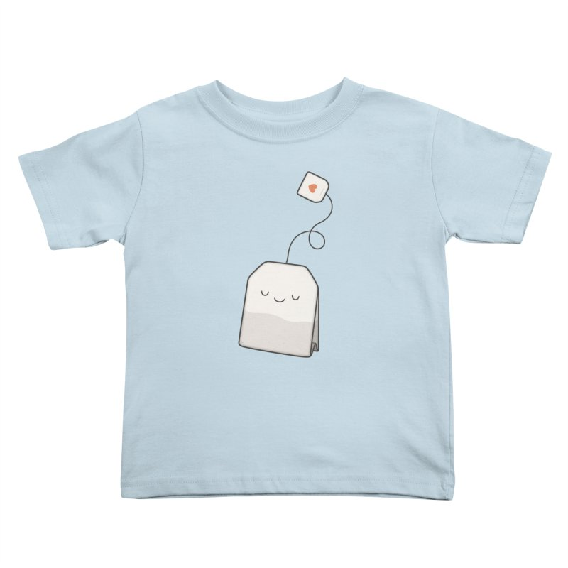 Tea Time Kids Toddler T-Shirt by Kim Vervuurt