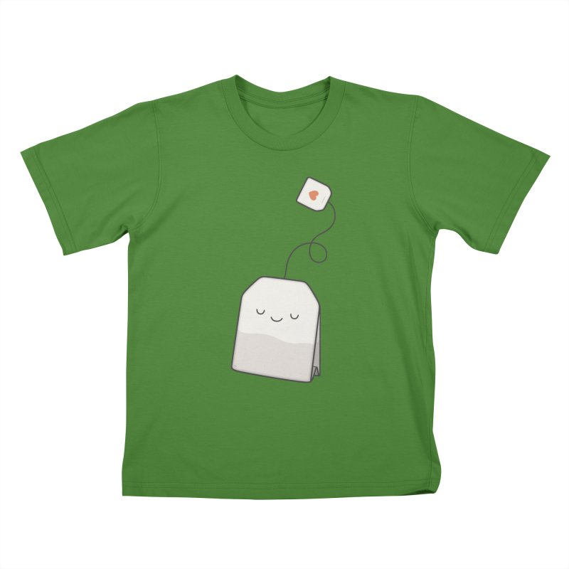 Tea Time Kids T-shirt by Kim Vervuurt