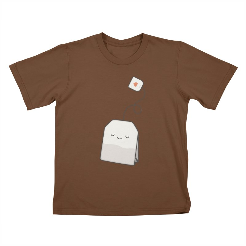 Tea Time Kids T-shirt by Kim Vervuurt