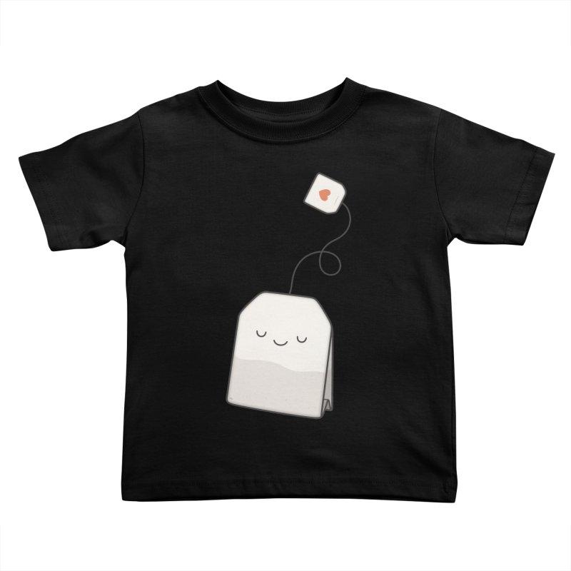 Tea Time Kids Toddler T-Shirt by Kim Vervuurt