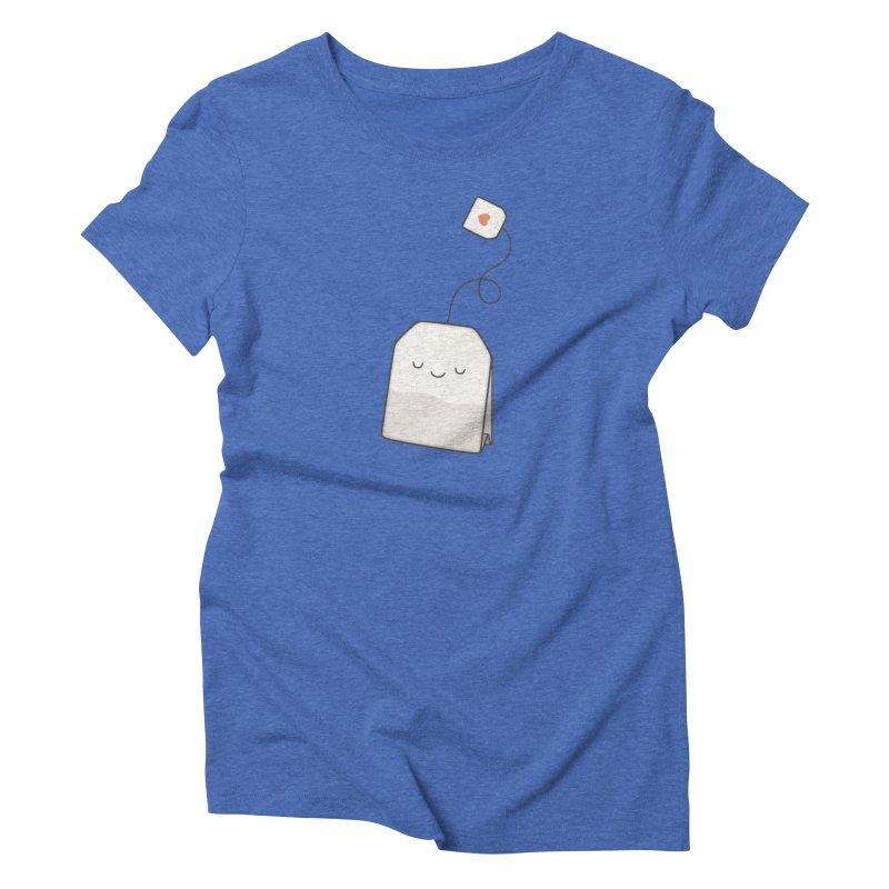 Tea Time Women's T-Shirt by Kim Vervuurt