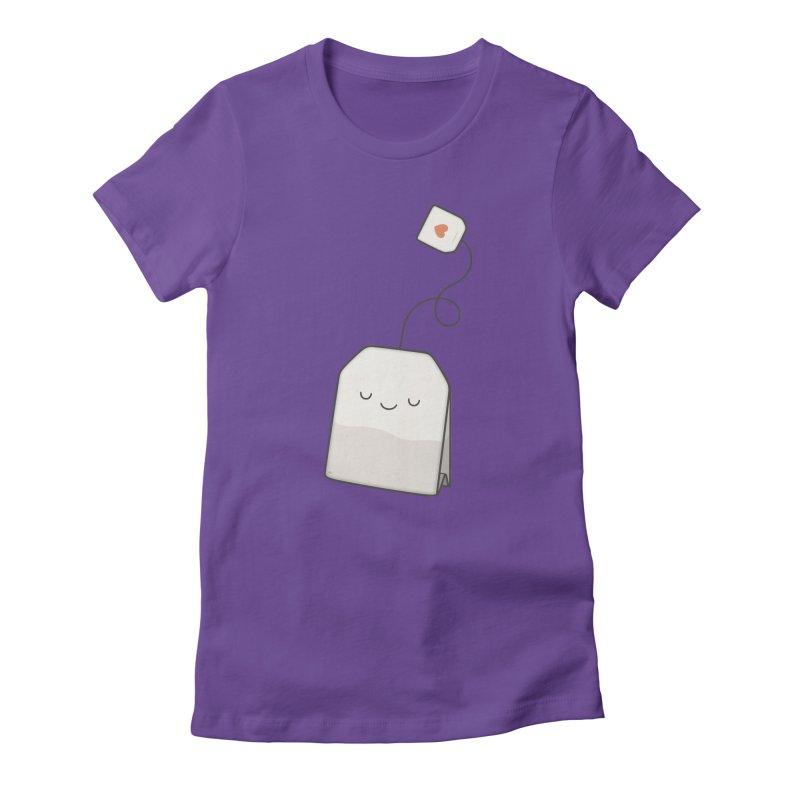 Tea Time Women's Fitted T-Shirt by Kim Vervuurt
