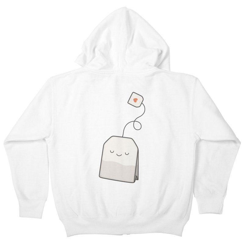 Tea Time Kids Zip-Up Hoody by Kim Vervuurt