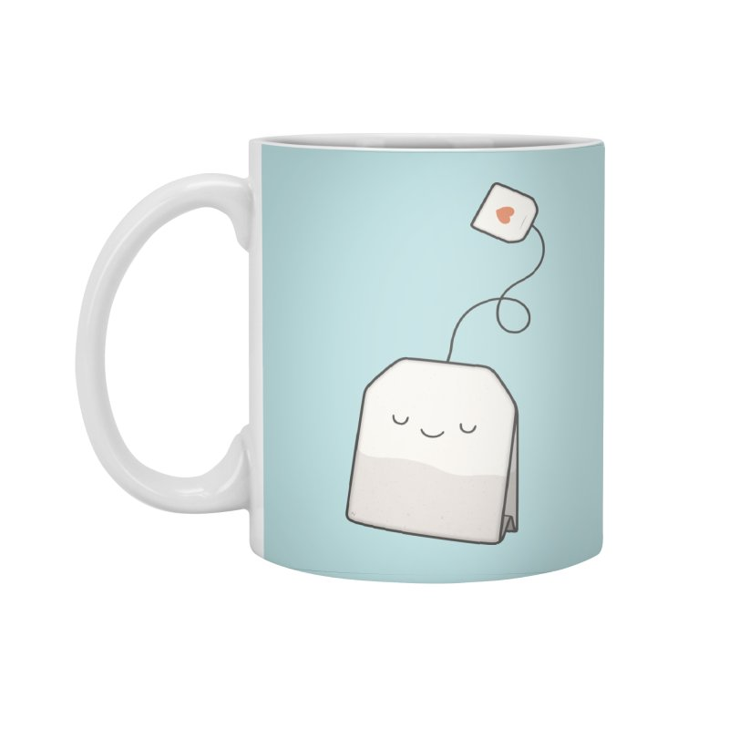 Tea Time Accessories Standard Mug by Kim Vervuurt