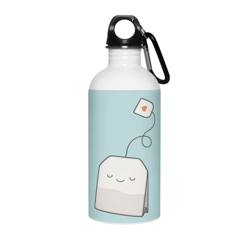 Tea Time Accessories Water Bottle by Kim Vervuurt