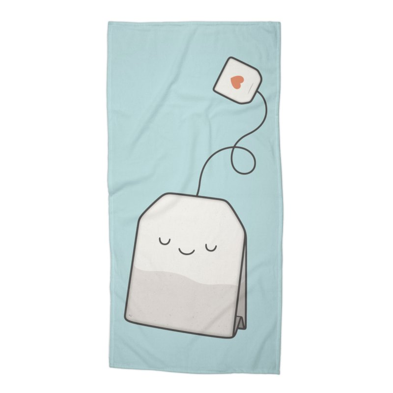 Tea Time Accessories Beach Towel by Kim Vervuurt