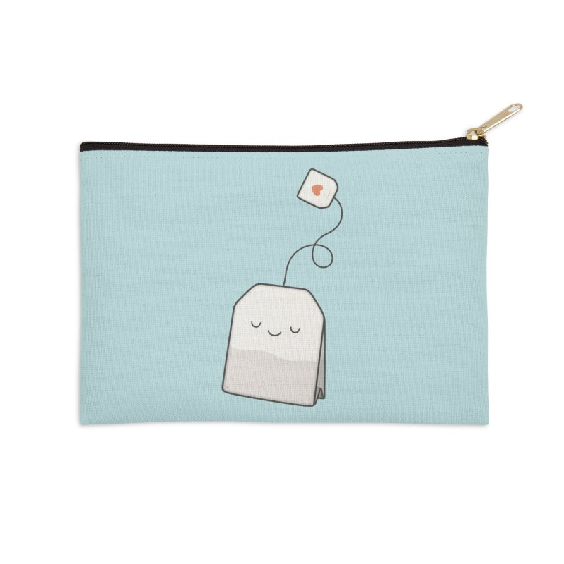 Tea Time Accessories Zip Pouch by Kim Vervuurt