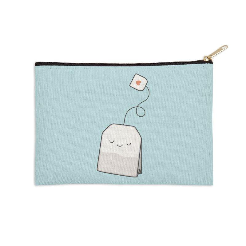 Tea Time Accessories Zip Pouch by Kim Vervuurt