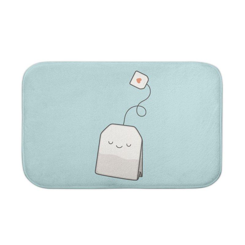 Tea Time Home Bath Mat by Kim Vervuurt