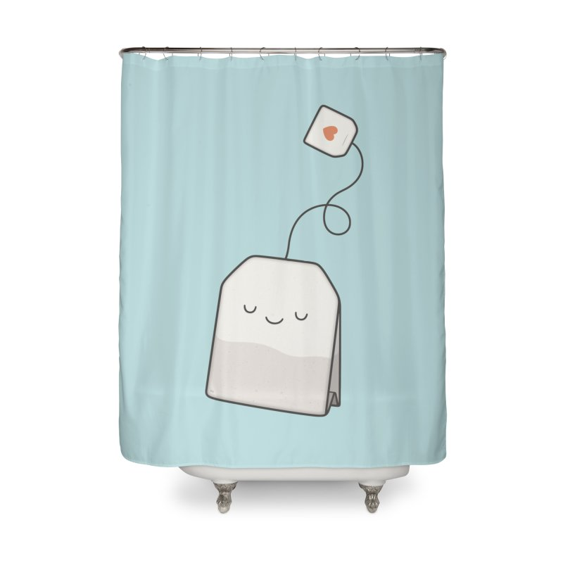 Tea Time Home Shower Curtain by Kim Vervuurt