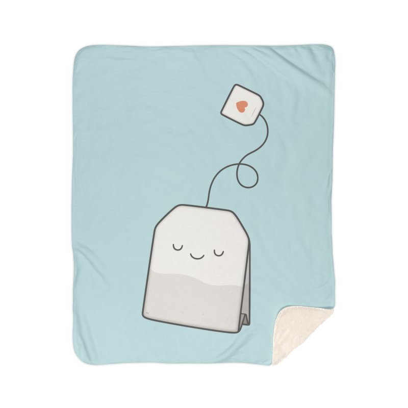 Tea Time Home Blanket by Kim Vervuurt