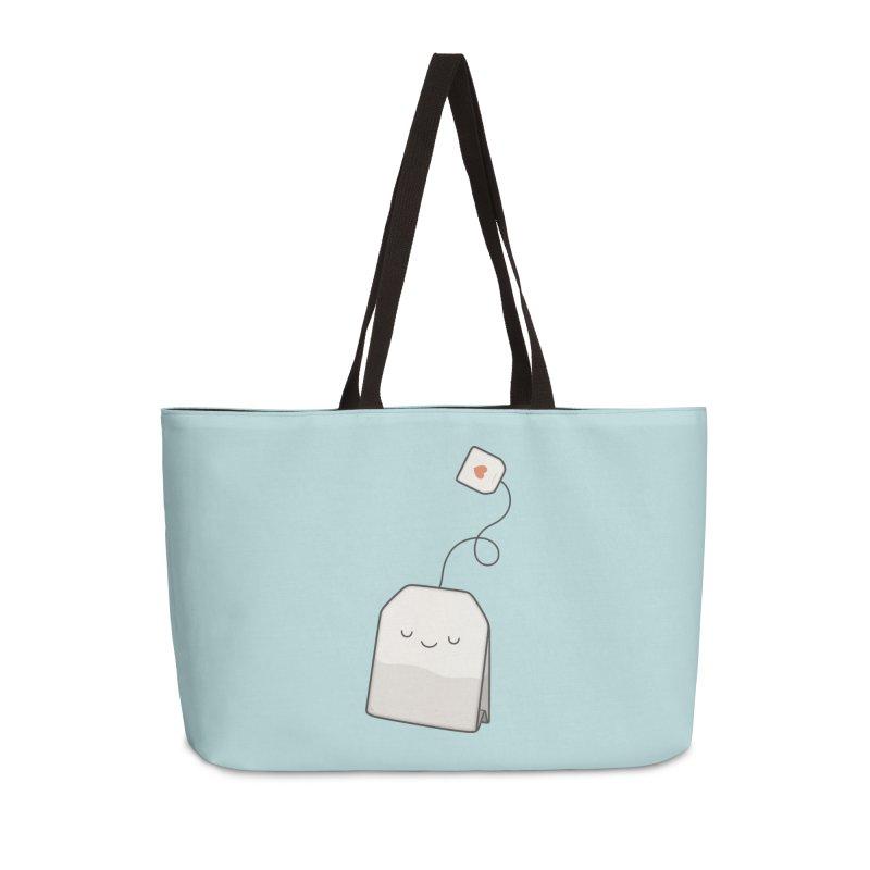 Tea Time Accessories Weekender Bag Bag by Kim Vervuurt