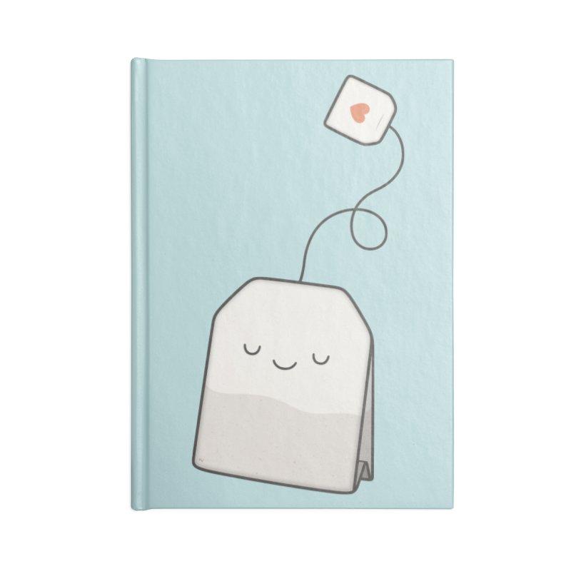 Tea Time Accessories Notebook by Kim Vervuurt