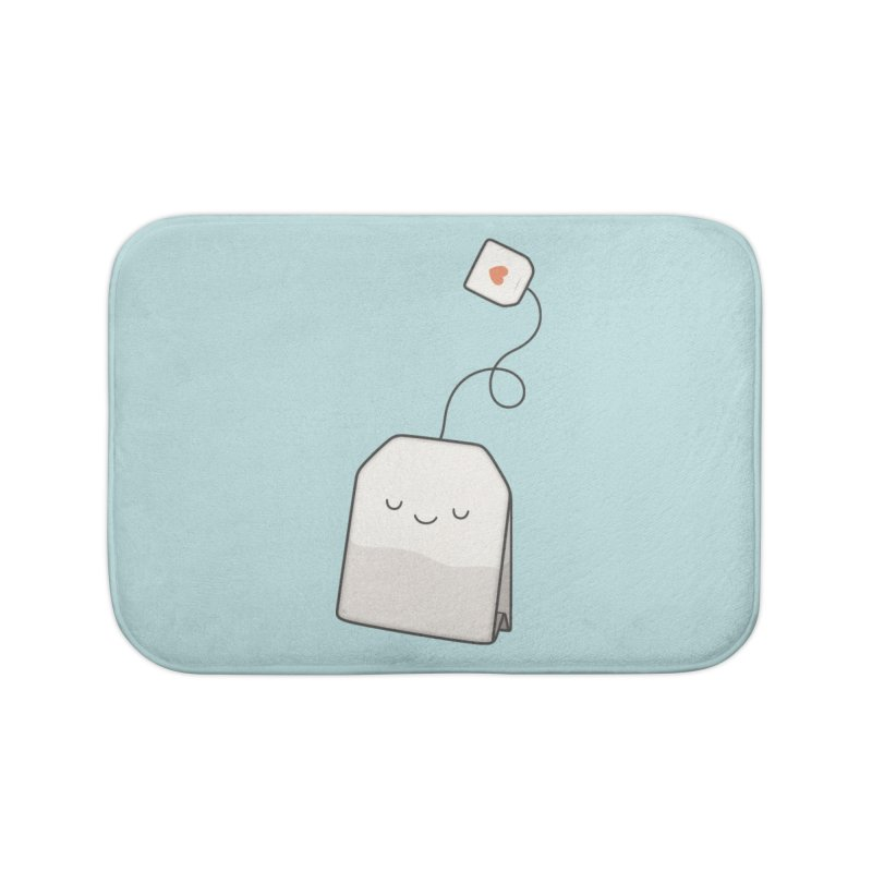 Tea Time Home Bath Mat by Kim Vervuurt