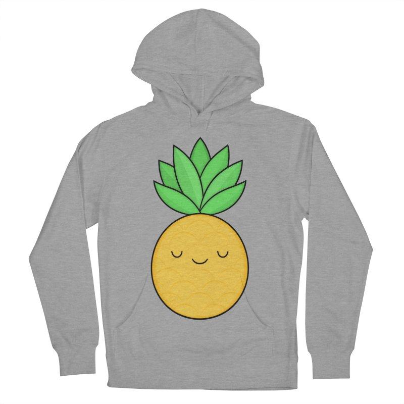 Happy Pineapple Women's Pullover Hoody by Kim Vervuurt