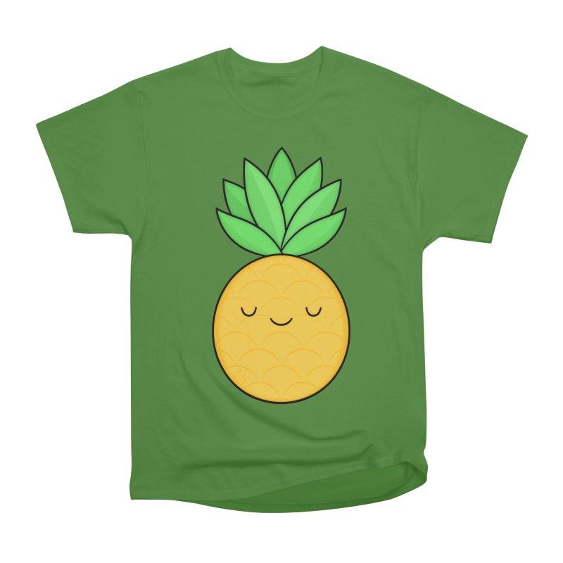 Happy Pineapple Men's Classic T-Shirt by Kim Vervuurt