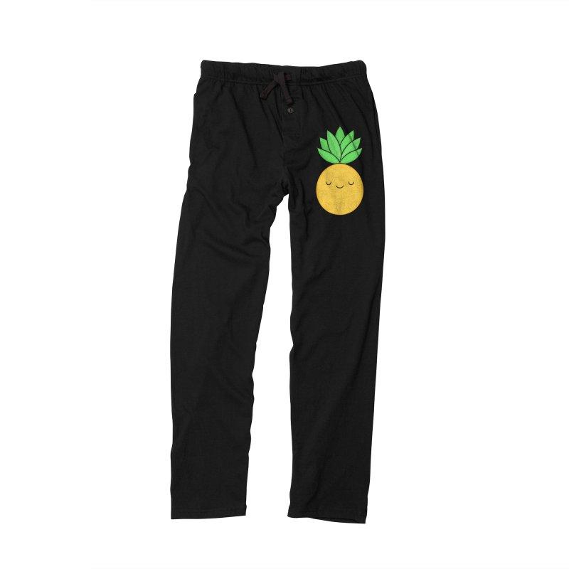 Happy Pineapple Men's Lounge Pants by Kim Vervuurt