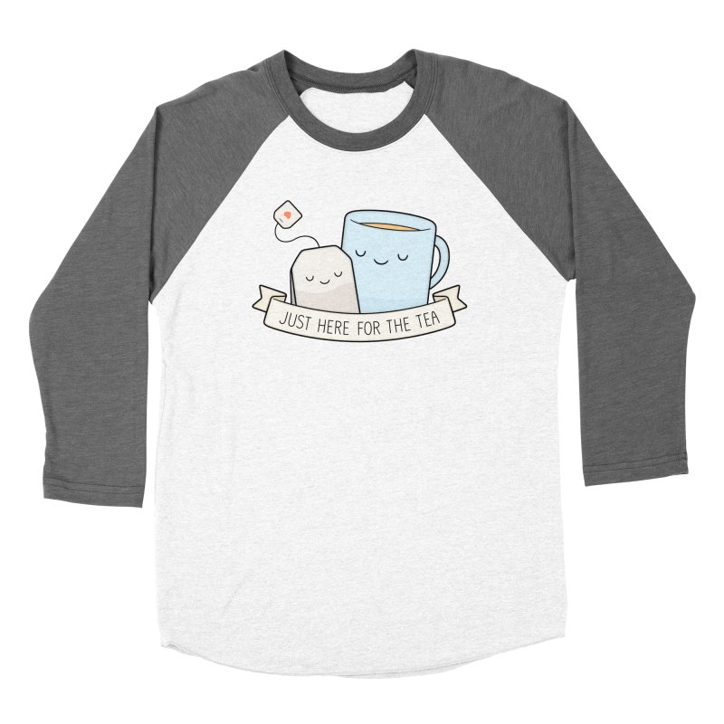 Just Here For The Tea Women's Longsleeve T-Shirt by Kim Vervuurt