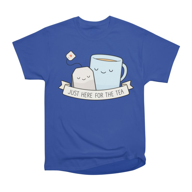 Just Here For The Tea Men's Classic T-Shirt by Kim Vervuurt