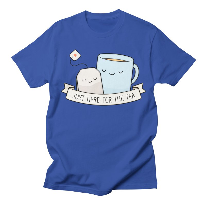 Just Here For The Tea Men's Regular T-Shirt by Kim Vervuurt
