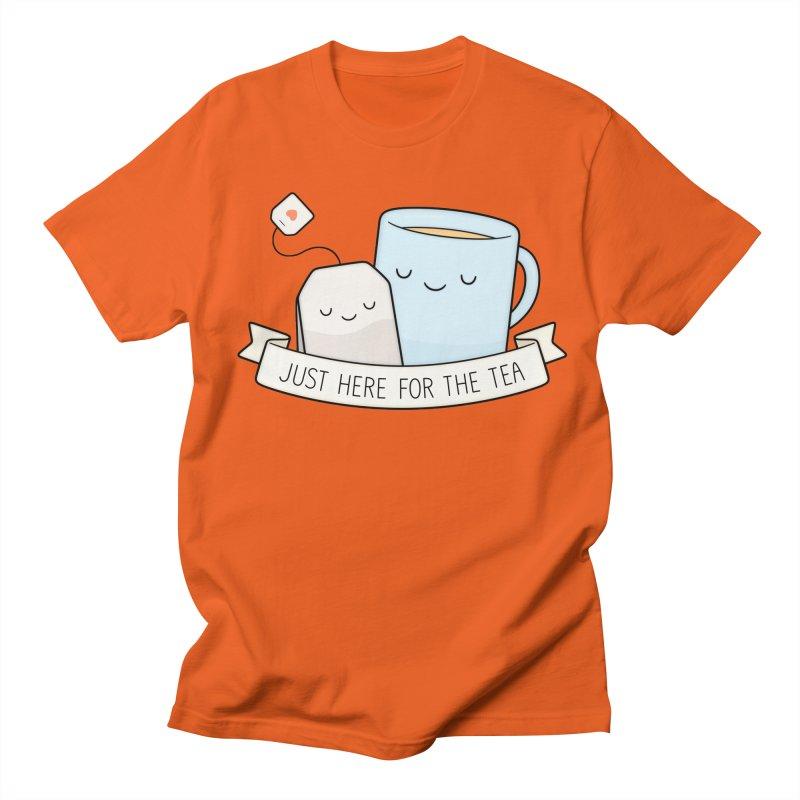 Just Here For The Tea Women's Unisex T-Shirt by Kim Vervuurt