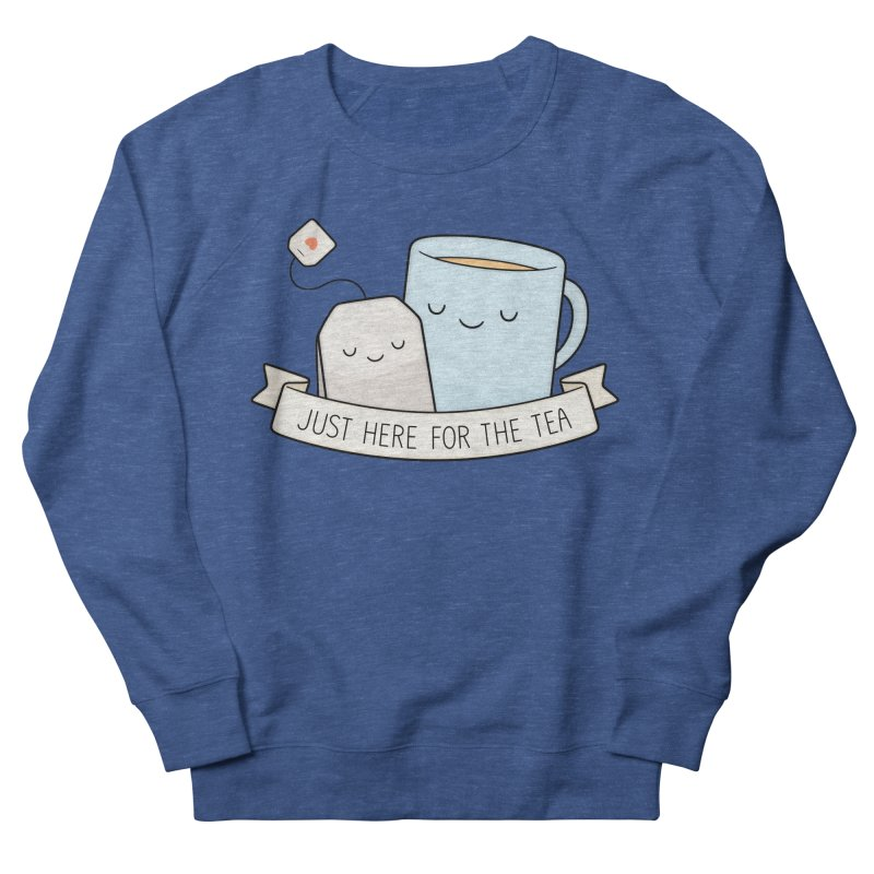 Just Here For The Tea Men's Sweatshirt by Kim Vervuurt
