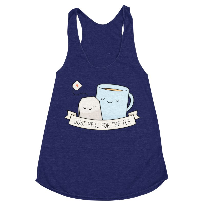 Just Here For The Tea Women's Tank by Kim Vervuurt