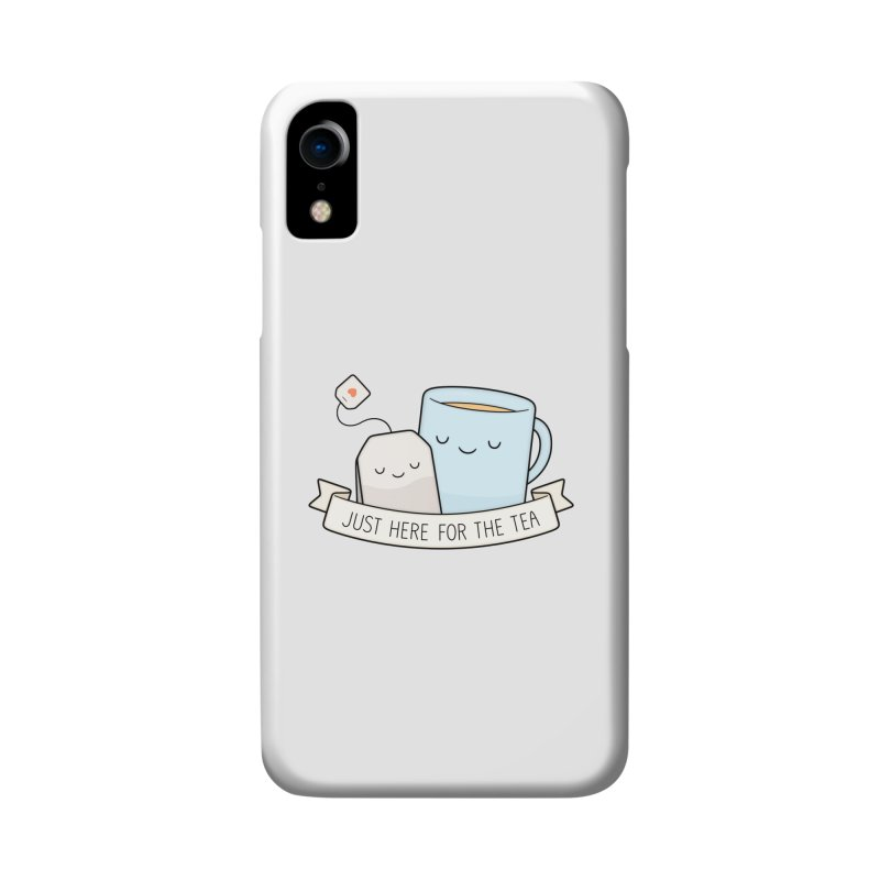 Just Here For The Tea Accessories Phone Case by Kim Vervuurt
